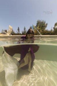 Book de embarazo bajo el agua
