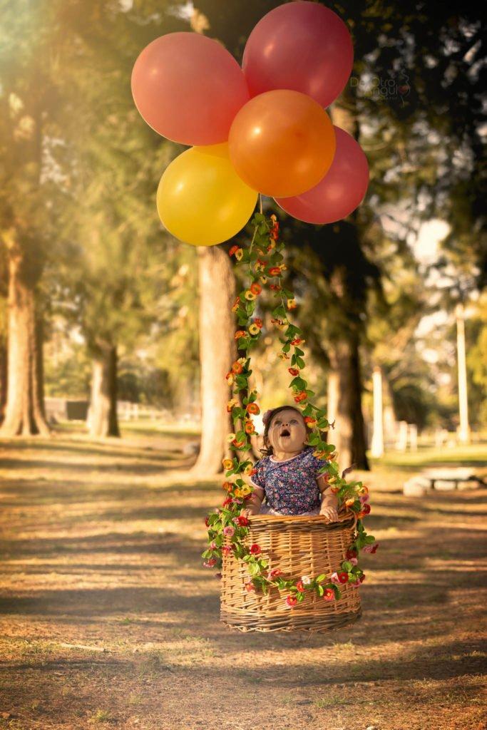 Portfolio fotografía infantil 1 año