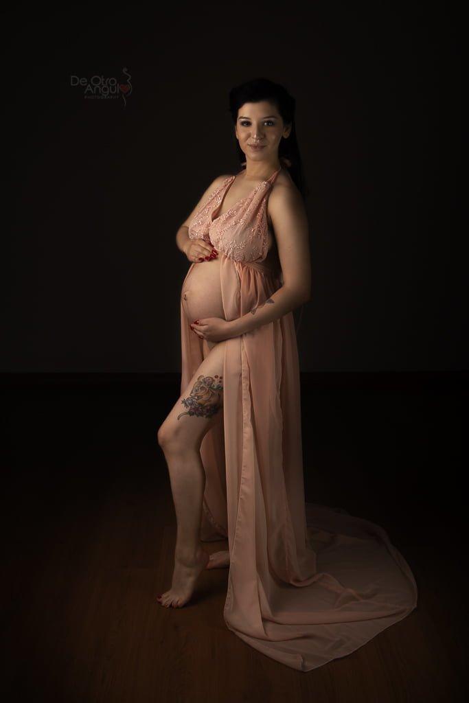 vestuario fotos de embarazo: Vestido Abierto